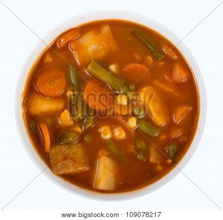 Vegetable Stew Bowl