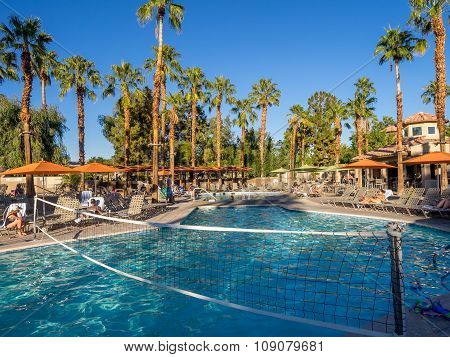 Pools at the Marriott Villas