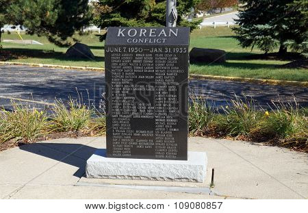 Korean Conflict Memorial