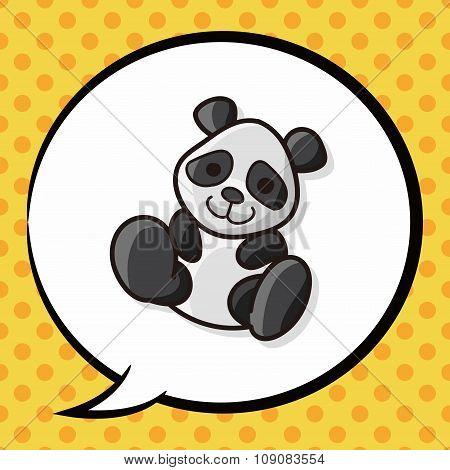 Animal Panda Doodle