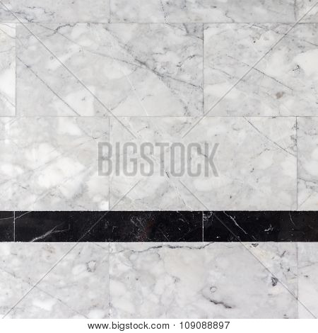 Grey Marble Stone Wall In Bathroom, Texture, Background