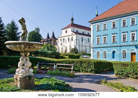 Spa Town Teplice, Bohemia, Czech Republic, Europe