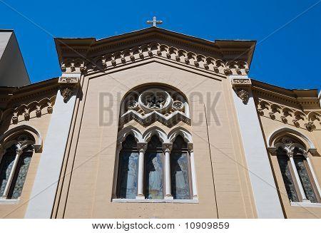 Immaculate Church. Bari. Apulia.