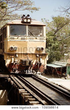 Vintage Asian Train