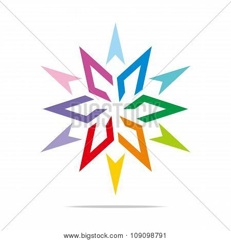Logo Star Arrow design
