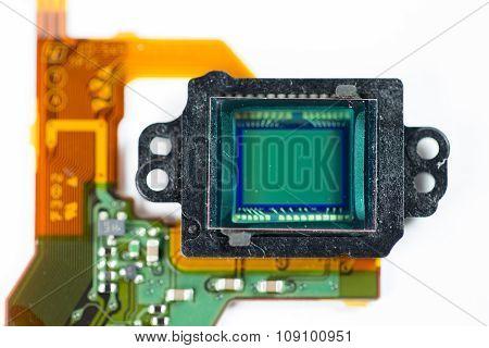 Camera Sensor close up