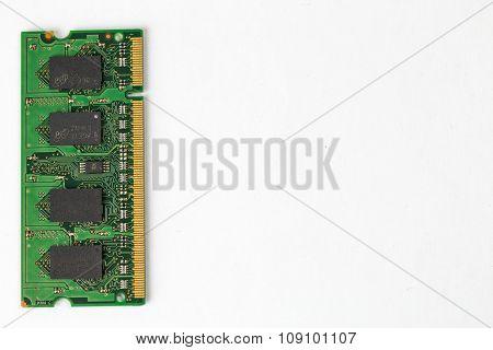RAM Chip on left side