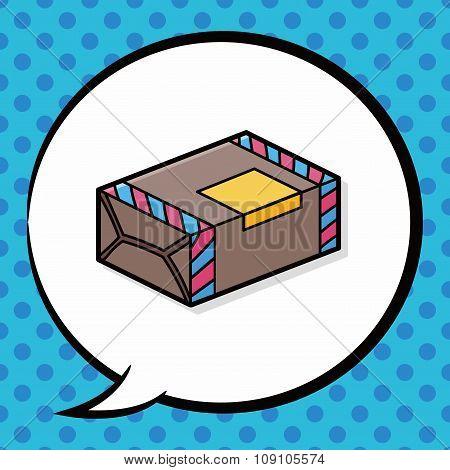 Paper Box Doodle