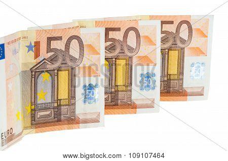 Banknotes Of 50 Euro