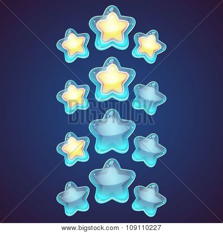 Star Vector Logo Set Icon