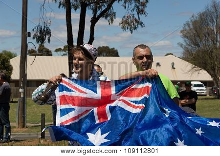 Reclaim Australia Rally - Melton