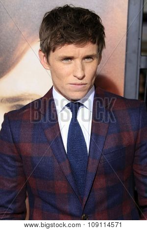 LOS ANGELES - NOV 21:  Eddie Redmayne at the