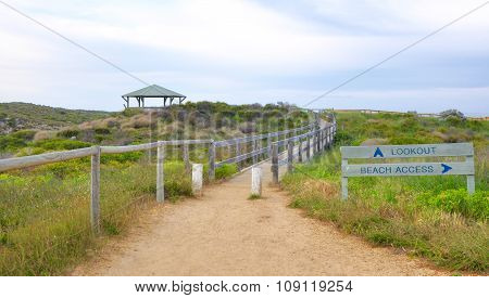Beach Access Path: Western Australia