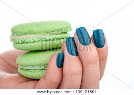 Green Nail Polish.