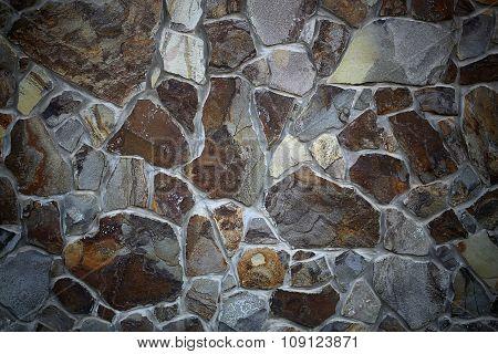 Seamless Stone Wall Exterior