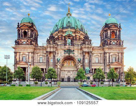 Berlin, Berliner Dom At Day, Nobody