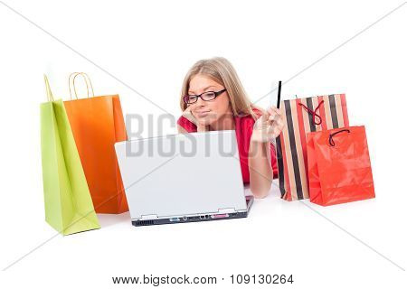 Shopping on web