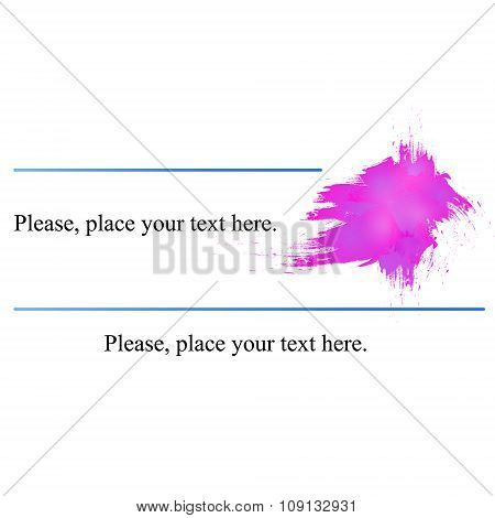 Business Card Pink.