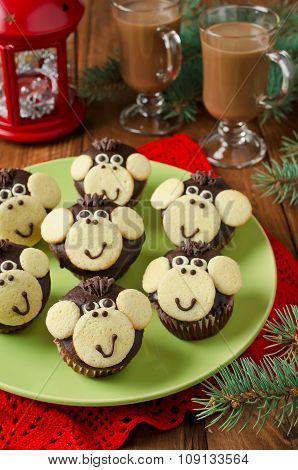 Chocolate Muffins Monkey