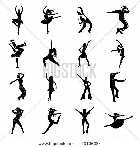 Dances simple icons set. Street dancing icon. Street dancing icon black. Street dancing icon simple. Street dancing icon isolated. Street dancing icon art. Street dancing icon web. Street dancing sign