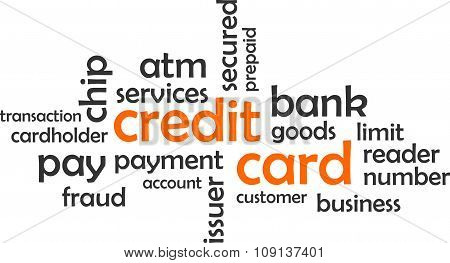 Word Cloud - Credit Card