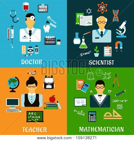 Doctor, teacher, scientist and mathematician
