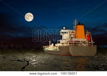Ship At Night