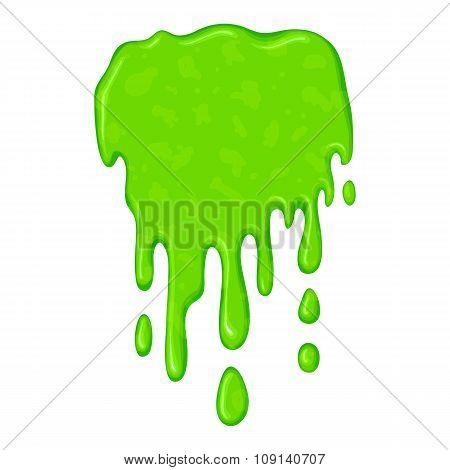 New green slime symbol