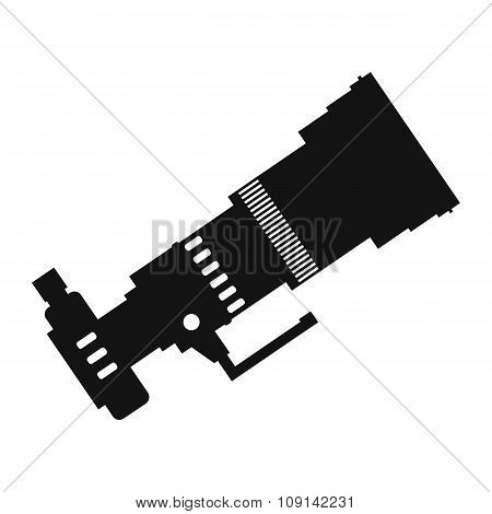 Professional camera simple icon