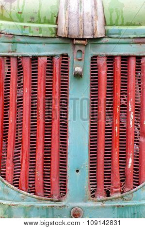 tractor grille old