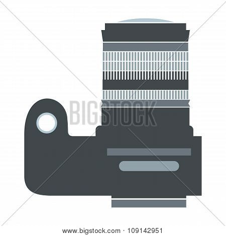 Professional camera flat icon