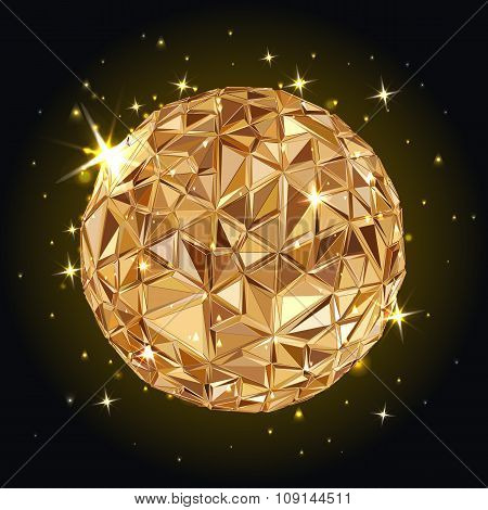 Geometric Disco ball