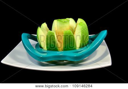 Apple,green, Portion
