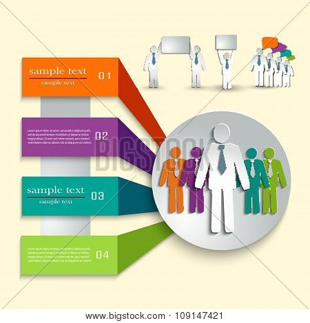 Infographic Template For Business Project