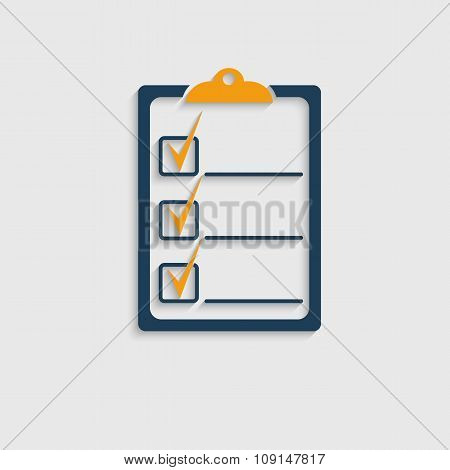 Check List Icon.