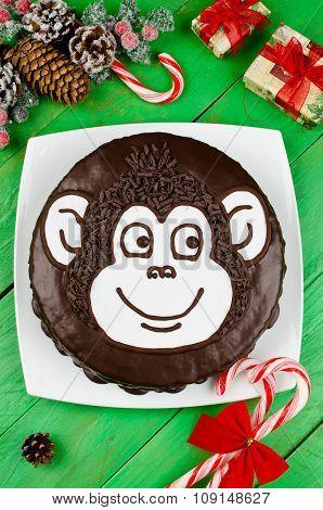 Chocolate Cake Monkey