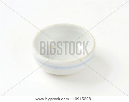 Mini round soy sauce dish