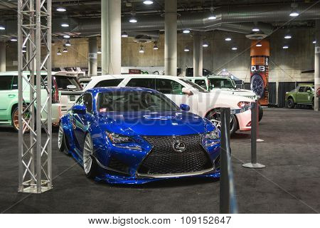Lexus Tuning On Display