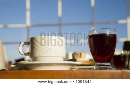 A Cup And A Glass
