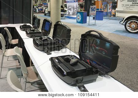 Mobile Gaming Stations