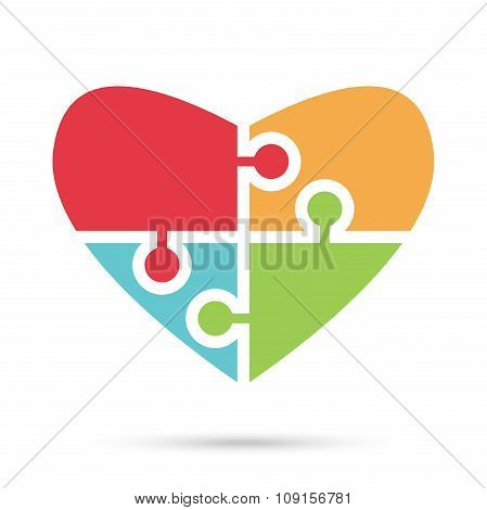Heart Of Multicolor Puzzles