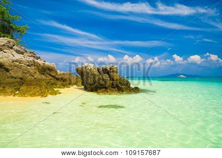 Sunshine Scene Serene Waters