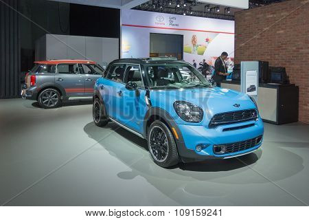 Mini Countryman On Display