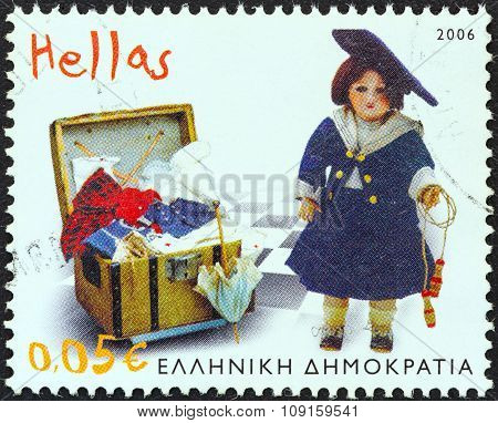 GREECE - CIRCA 2006: A stamp printed in Greece from the