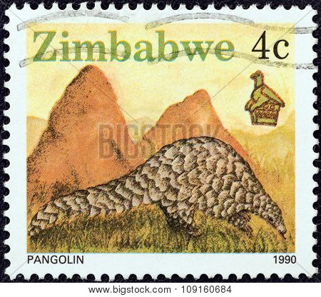 ZIMBABWE - CIRCA 1990: A stamp printed in Zimbabwe from the
