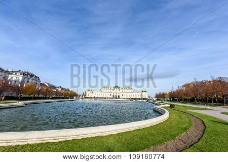 Belvedere Palace and Museum, Vienna, Austria
