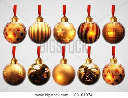 christmas bubble design