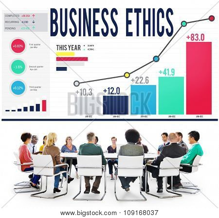 Business Ethnics Philosophy Responsibility Honesty Concept