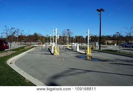 Parking Lot Gates