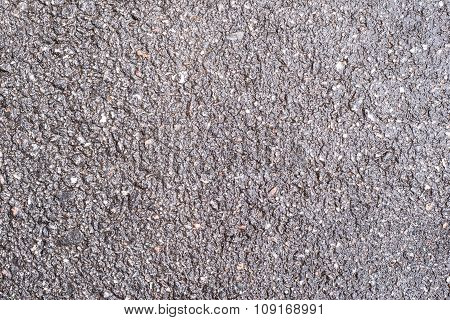 Damp Surface Of Asphalt